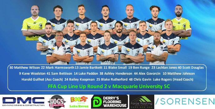 FFA Cup Round 2 Line Up
