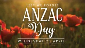 Anzac Day 25th April