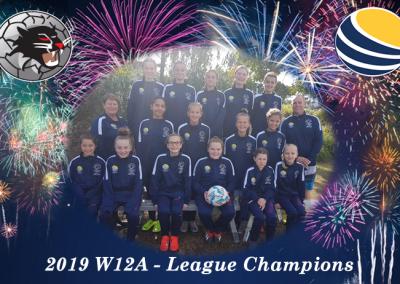 W12A League Champions