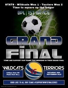 BPL | 1st Grade Grand Final