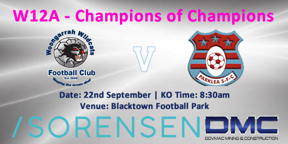 W12-A Champions of Champions Fixture