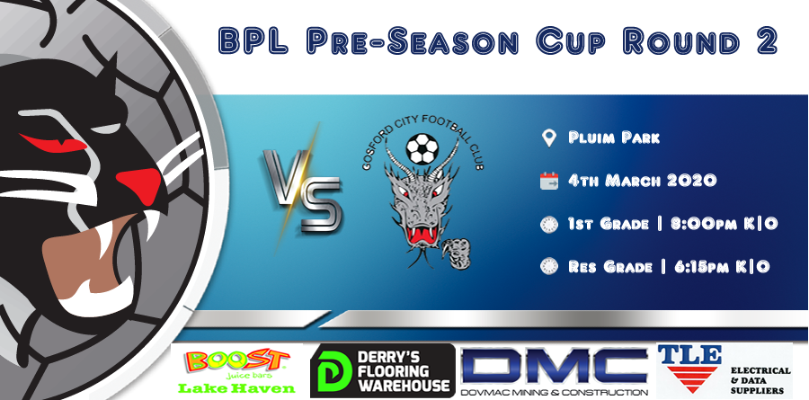 Men's BPL Squad Kicks Off There Season on Wednesday Pre-Season Cup