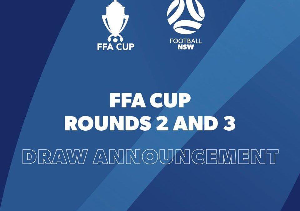 FFA Cup Round 2 & 3 Draw Announced