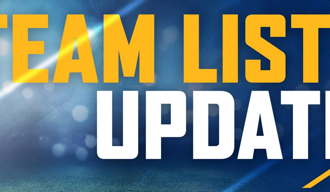 Provisional Team List Released on Wednesday