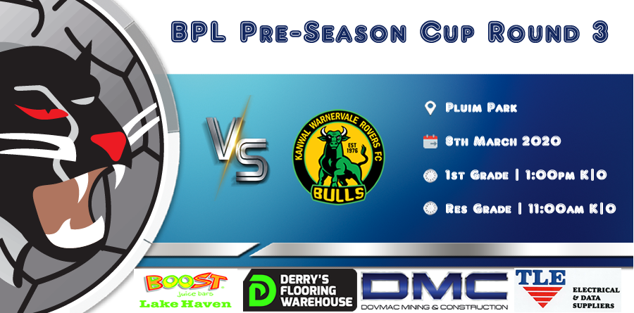 Men's Pre Season Cup Round 3 vs Kanwal FC (Local Derby)