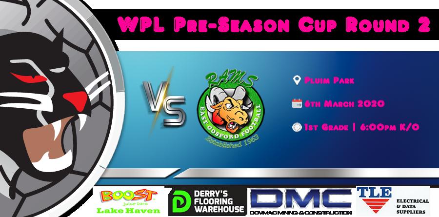 WPL Pre-Season Cup Round 2 vs Est Gosford