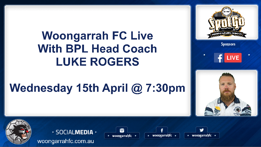 1 on 1 With BPL Head Coach Luke Rogers