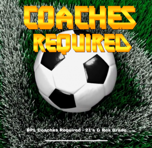 BPL Coaches Required for 2021 Season