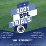 2021 BPL Trials